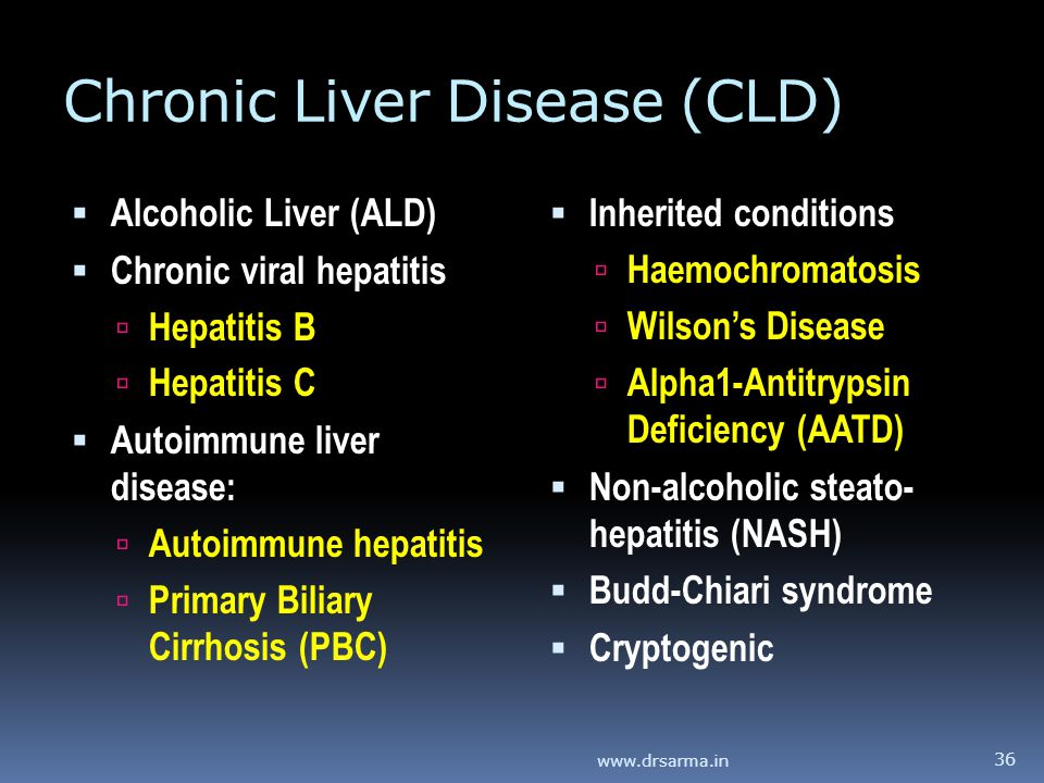Chronic Liver Disease (CLD)