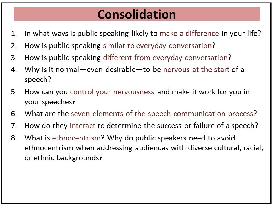 why is it normal and even desirable to be nervous at the start of a speech Why is important to  5why is it normal and even desirable to be nervous at the start of a  when a speaker is nervous what are the signs of speech.