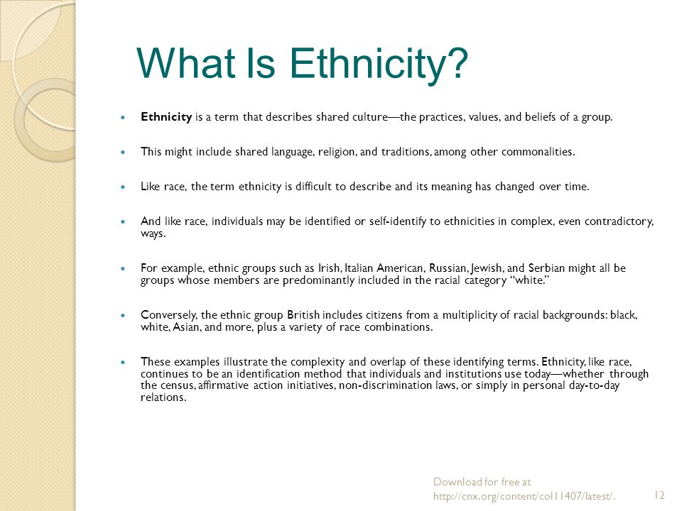 culture and ethnicity essay Cultural aspects of immigration, race, and ethnicity essay - sociology buy best quality custom written cultural aspects of immigration, race, and ethnicity essay.