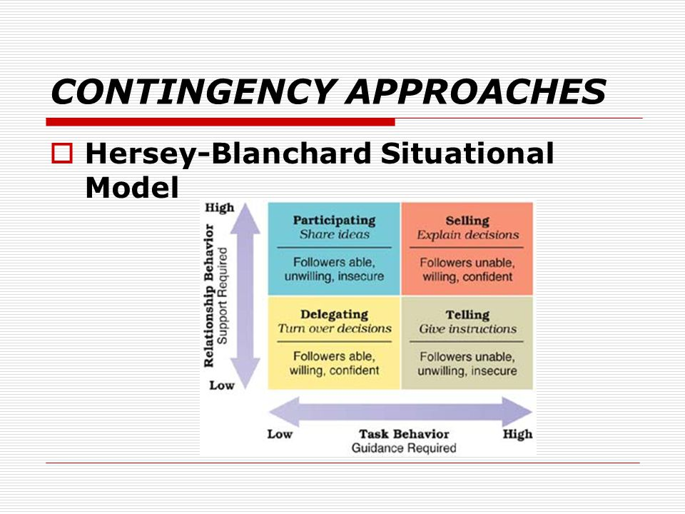 hersey blanchard model and the vroom jago model Hire business management expert, ask management studies expert, assignment help analyze this situation using the hersey-blanchard model and the vroom-jago model the change must be made and then the model resolved 2.