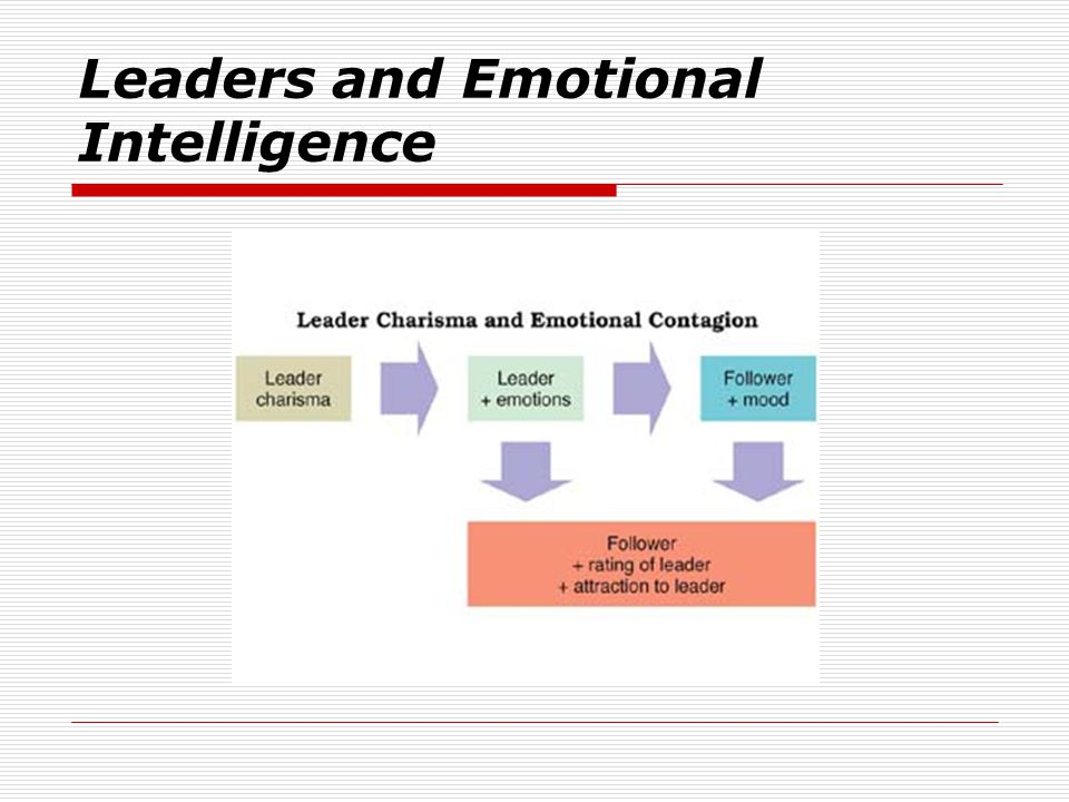 Leaders and Emotional Intelligence