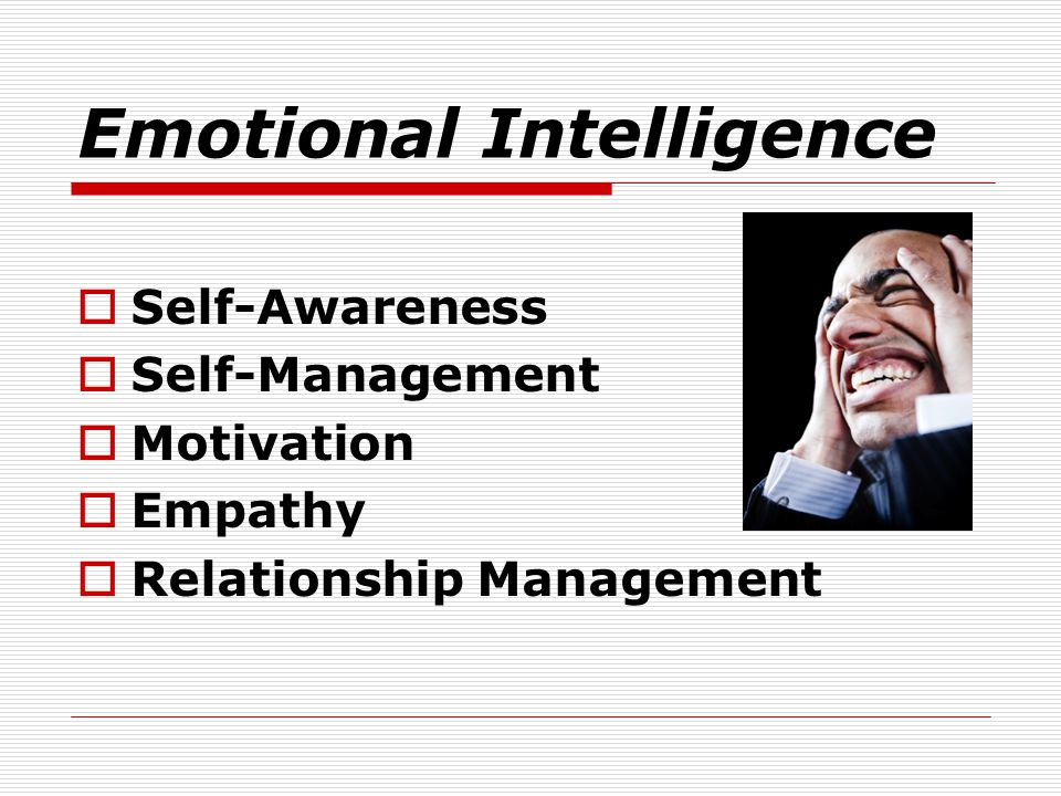 relationship between self awareness and emotional intelligence