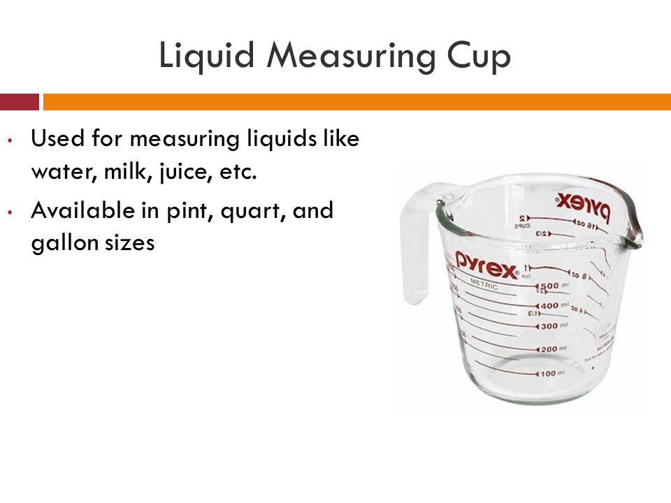 liquid measuring cups come in what sizes fire king glass