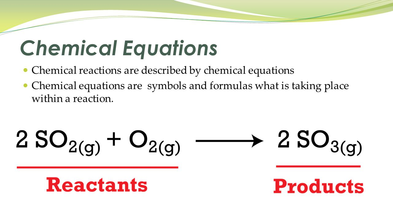 Unit 6 chemical reactions ppt download 3 chemical equations biocorpaavc Choice Image