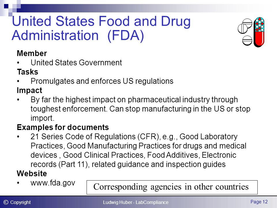 the u s food and drug administration essay The food and drug administration (fda) is an agency within the us  department of health and human services it consists of the office of the.