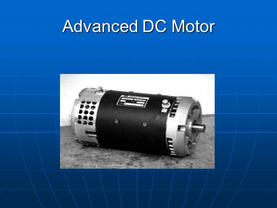 advanced dc motor ppt video online download