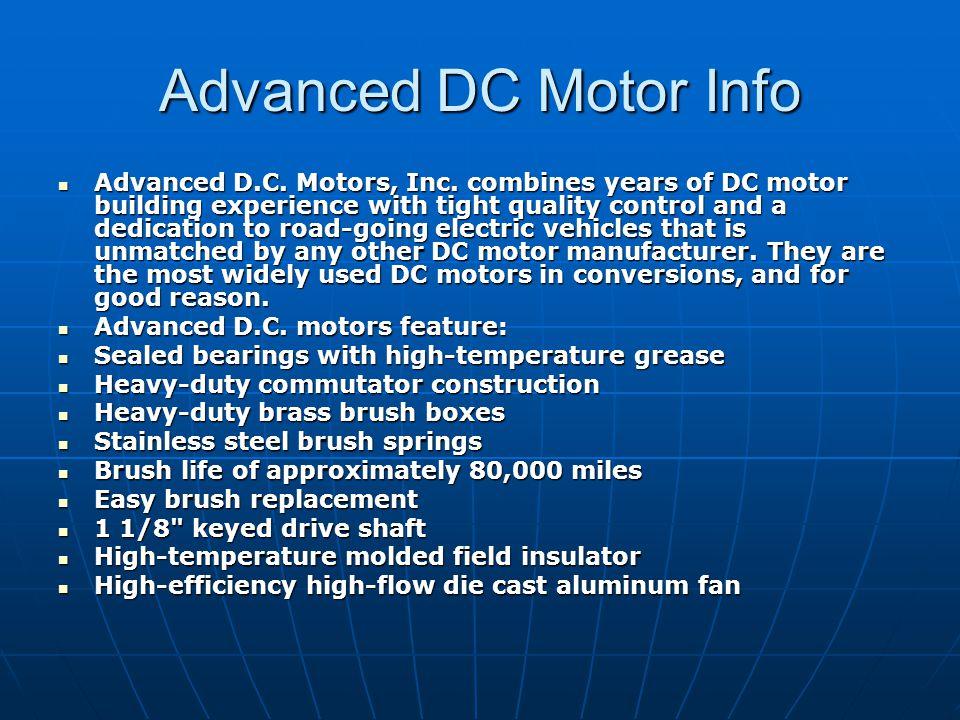 Advanced Dc Motor Ppt Video Online Download
