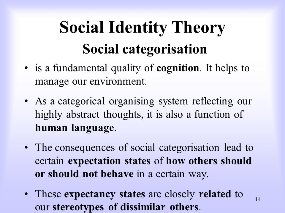 role of social interactions in identity formation The role of parents in the socialization of their own children is  social interactions, and identity formation in the assimilation process in.