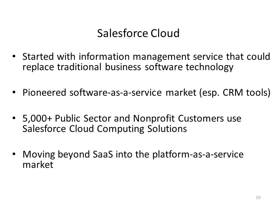 software industry and salesforce com information technology essay Ebooks and white papers salesforce on-demand webinars ledgeview partners' consultants combine savvy business intellect with strong technological aptitude to provide solutions that extend well beyond software implementations information technology director.