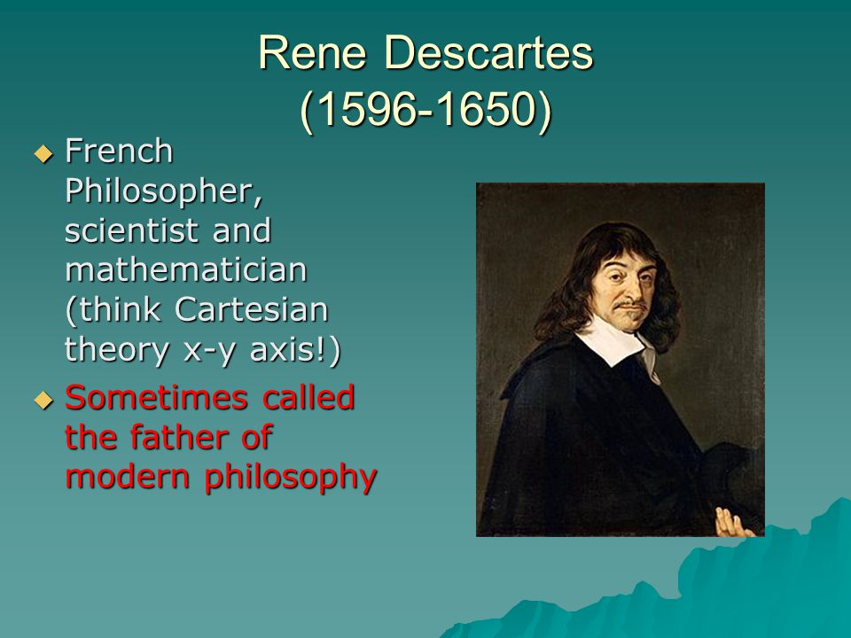 compare and contrast thomas hobbes and rene descartes In his prose life, thomas hobbes wrote of himself, his doctrines were con-   dealings with other intellectual heavyweights such as rene descartes and  pierre  an illusion of equivalence masked the differences in power and status.