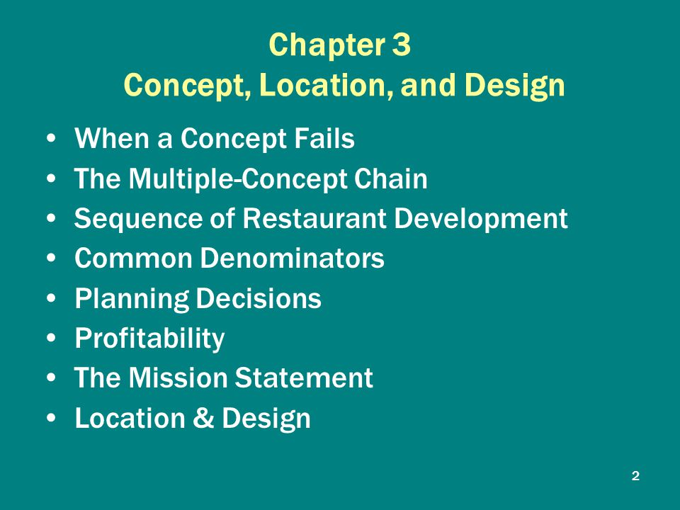 Chapter concept location and design ppt video online