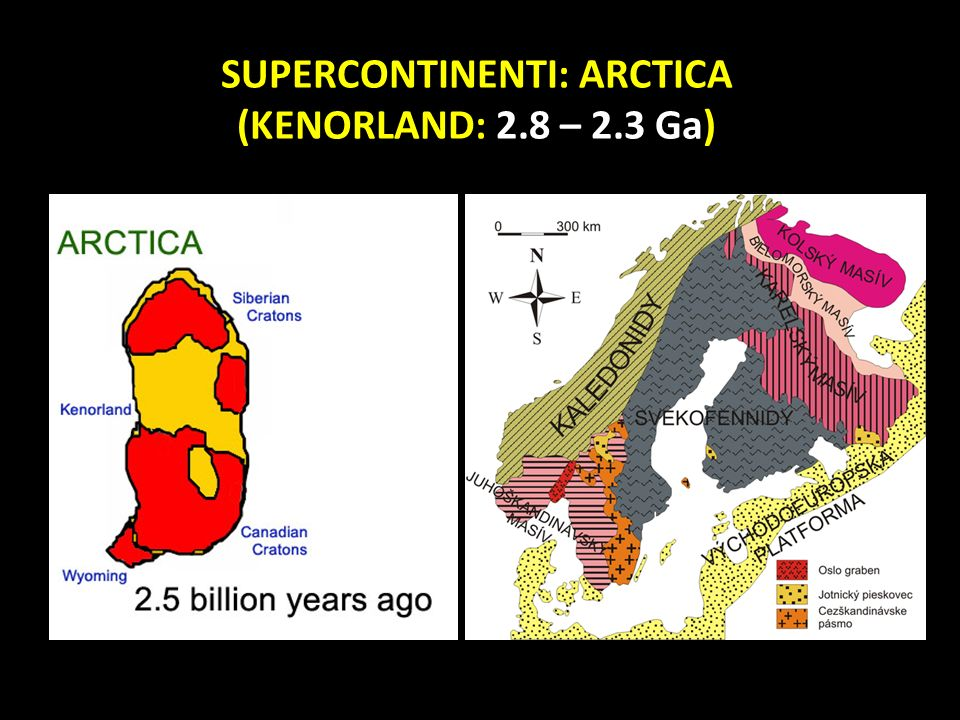 SUPERCONTINENTI: ARCTICA