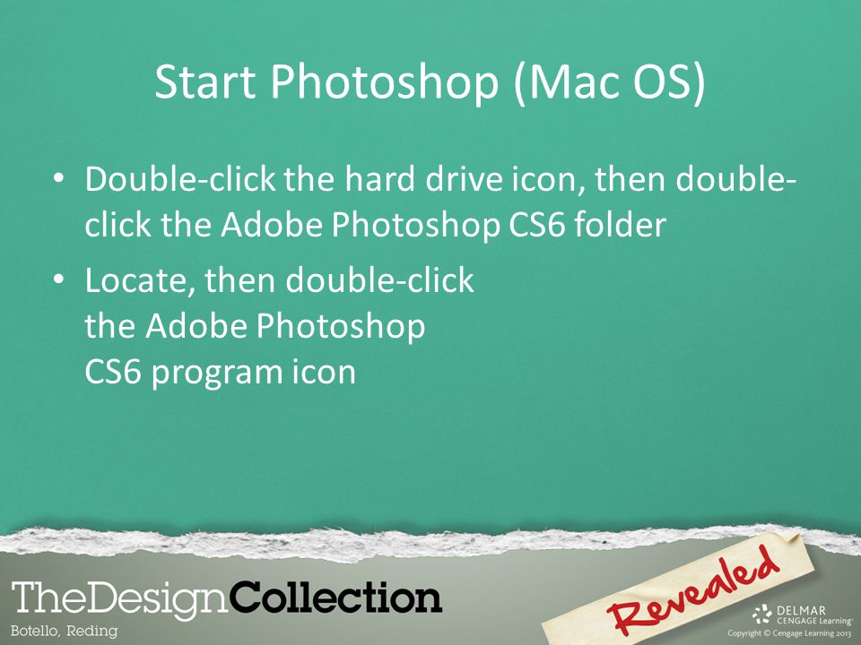 Start Photoshop (Mac OS)