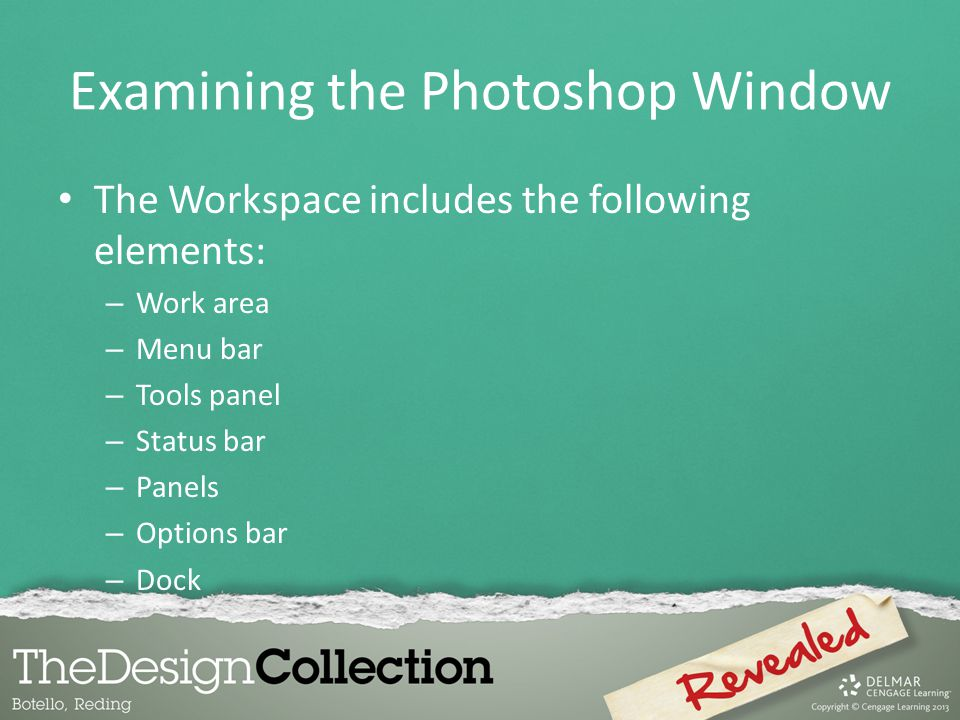 Examining the Photoshop Window