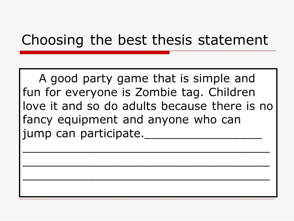 choosing a thesis Having completed my ma and since helped many others complete their degrees, i have added to fred's advice to create some useful tips for choosing a quality thesis topic these guidelines are written by an archaeologist, but can applied to most fields.