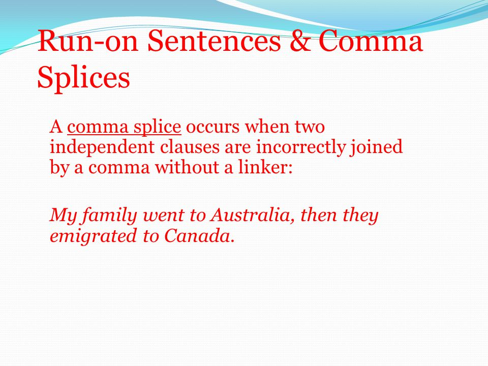100+ [ Run On And Comma Splice Worksheet ] : An ...