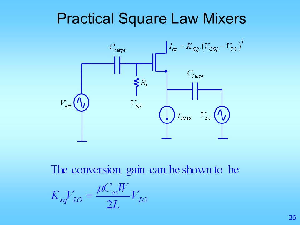 Mixer Design Introduction To Mixers Mixer Metrics Mixer
