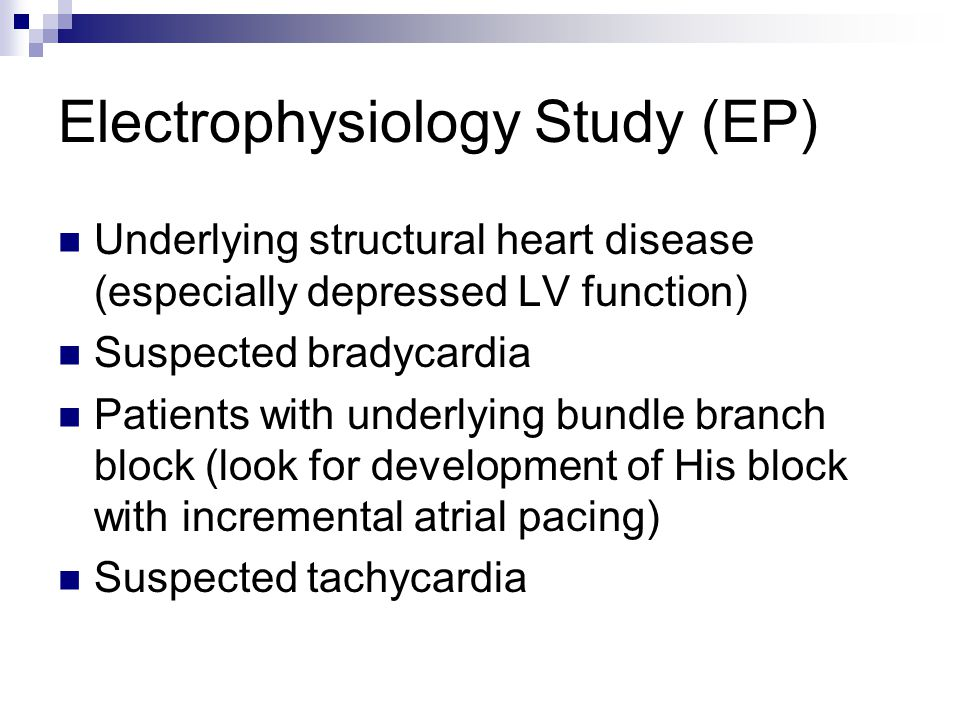 Electrophysiology Testing and Your Heart - WebMD