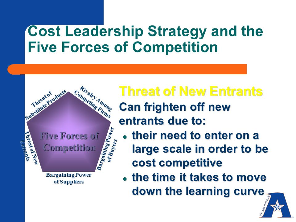 five competitive forces of effective leadership Porters five forces model is still a powerful approach with swiftly shifting competitive forces to be an effective leader i need to find a better.