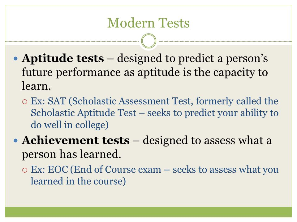 Aptitude Test | Definition of Aptitude Test by Merriam-Webster