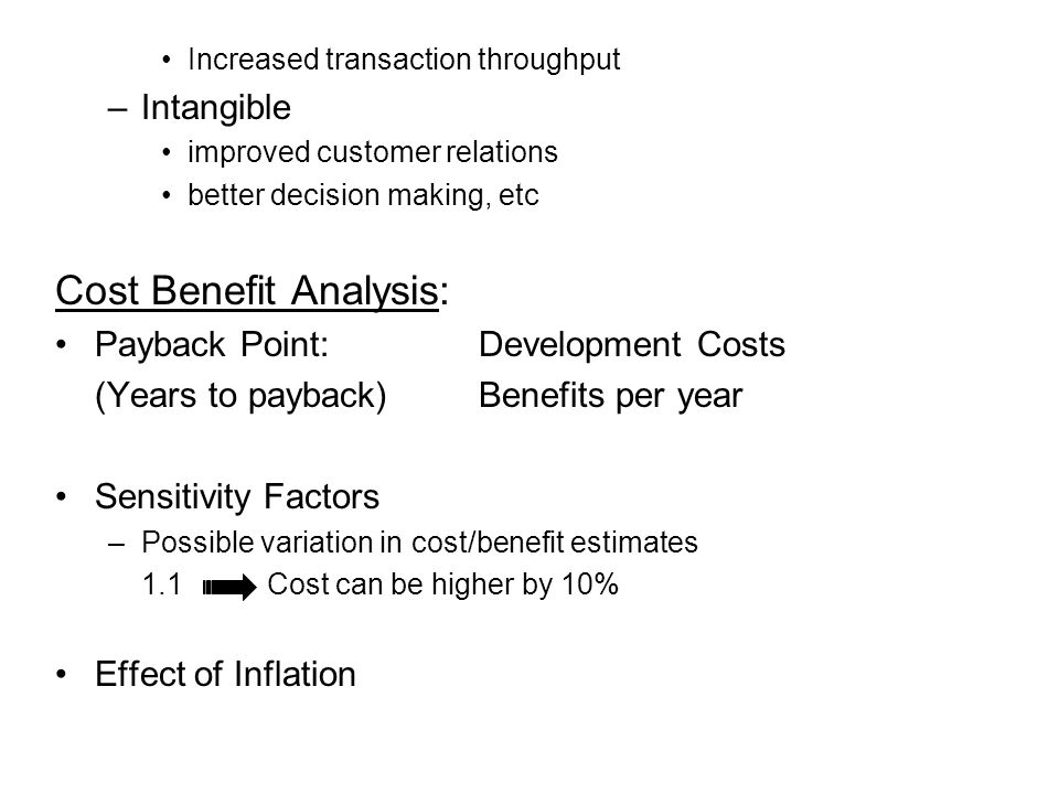 How to: cost-benefit analysis