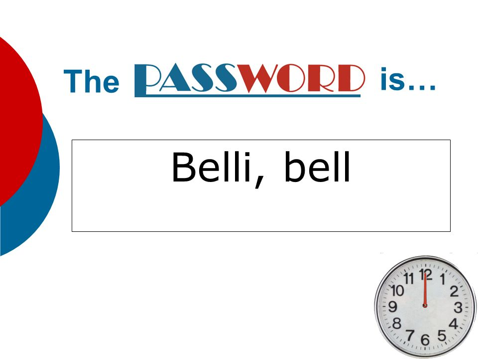 The is… Belli, bell