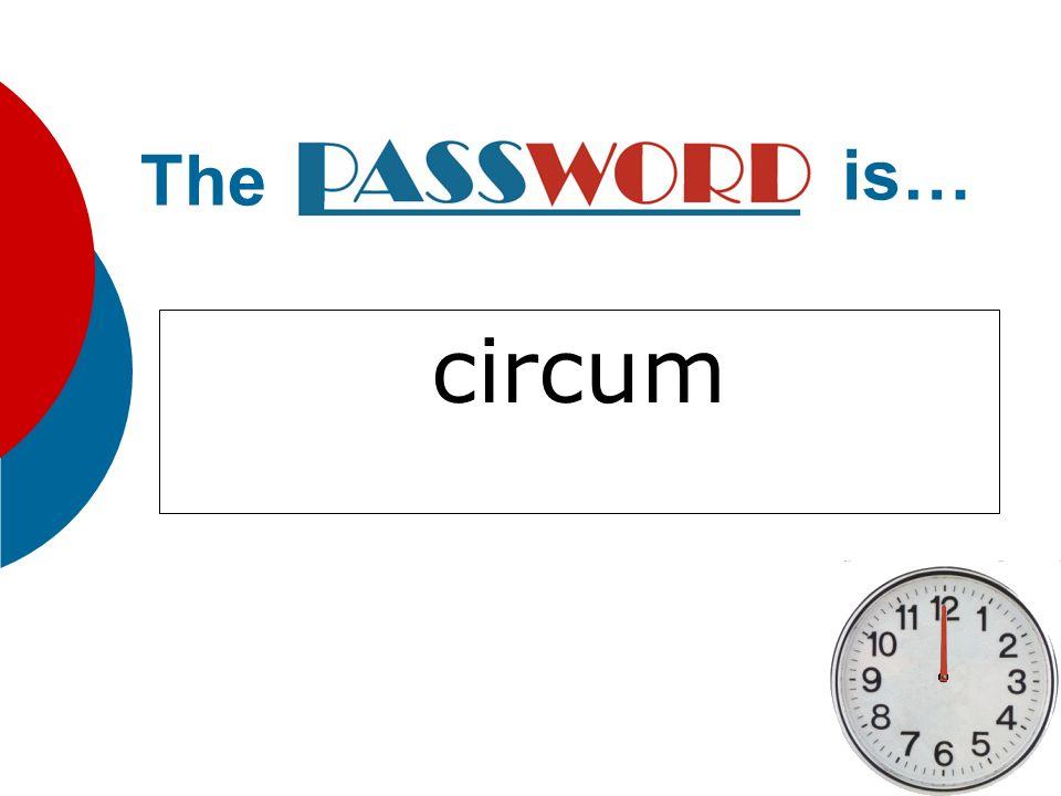 The is… circum
