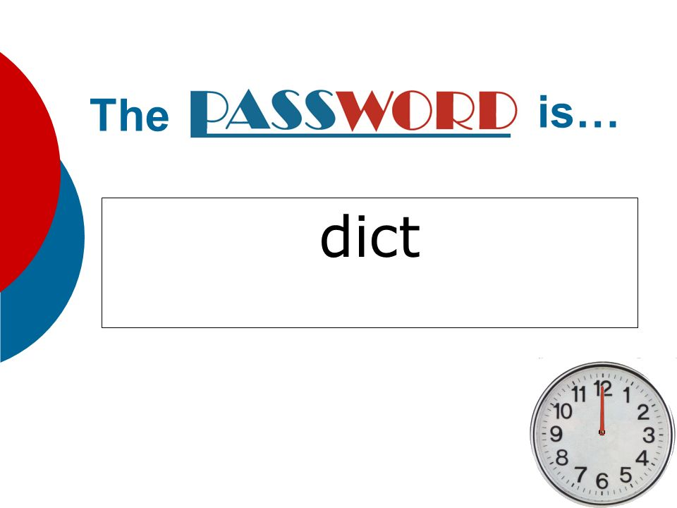 The is… dict