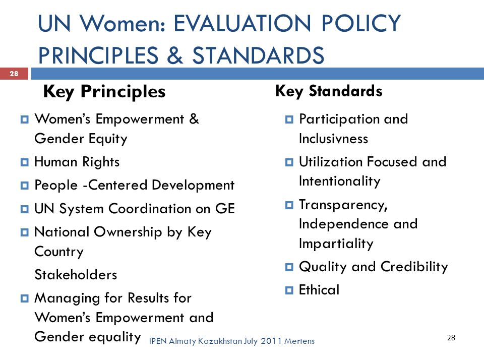 policy evaluation Successful public policy monitoring and evaluation: the world bank identifies five ground rules that deliver results that are both useful and used.