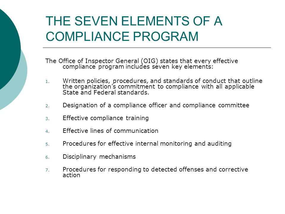 Fraud waste abuse training ppt video online download - Compliance officer certification programs ...