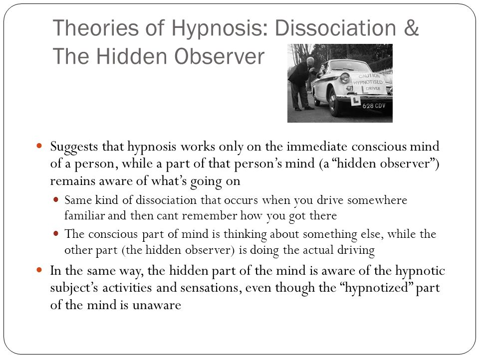 Scientific Theories of Hypnosis