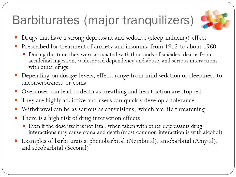 Examples Of Tranquilizer Drugs Related Keywords & Suggestions