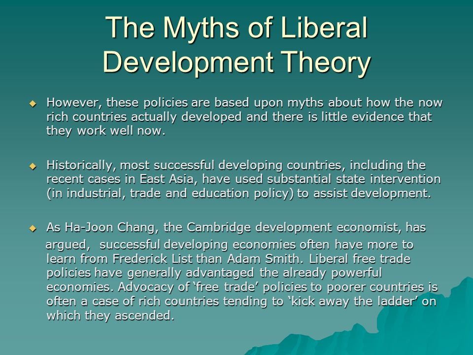 liberal theory Liberal theories are theories designed to show that the liberal organization of  society is the best for human beings with regard to their fundamental nature and.
