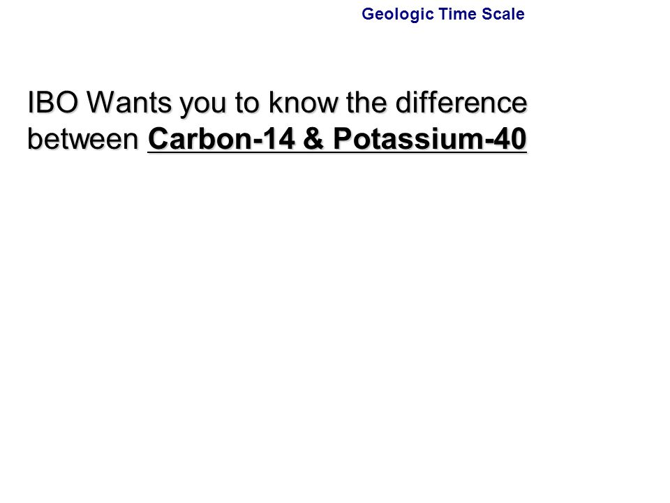 What is the difference between carbon dating and radioactive dating