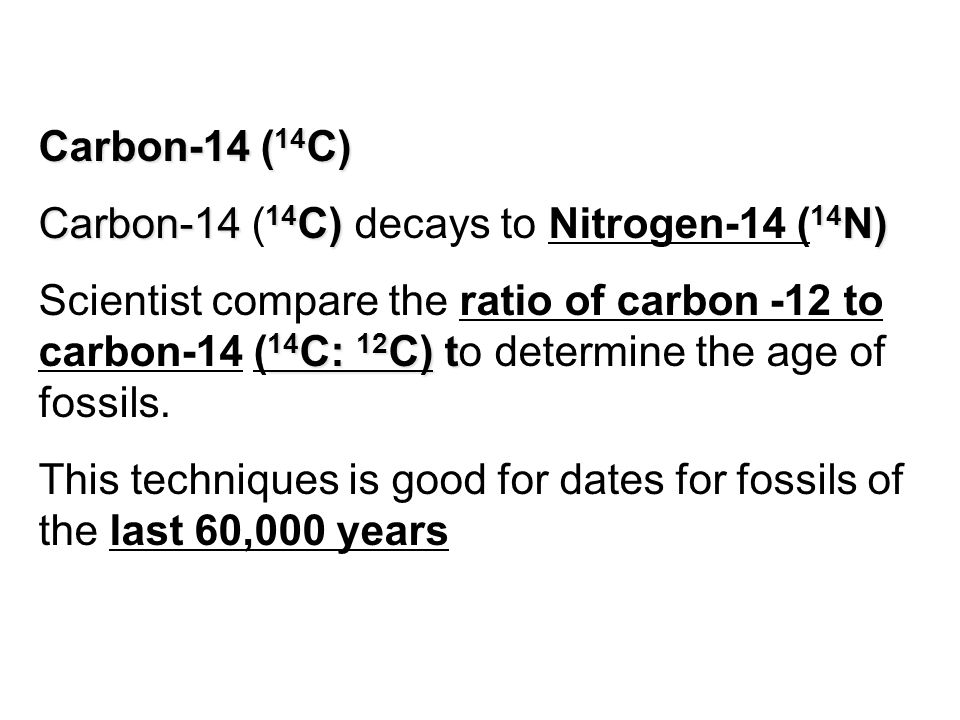 """how long is carbon dating good for Many people assume that rocks are dated at """"millions of years"""" based on radiocarbon (carbon-14) dating but that's not the case."""