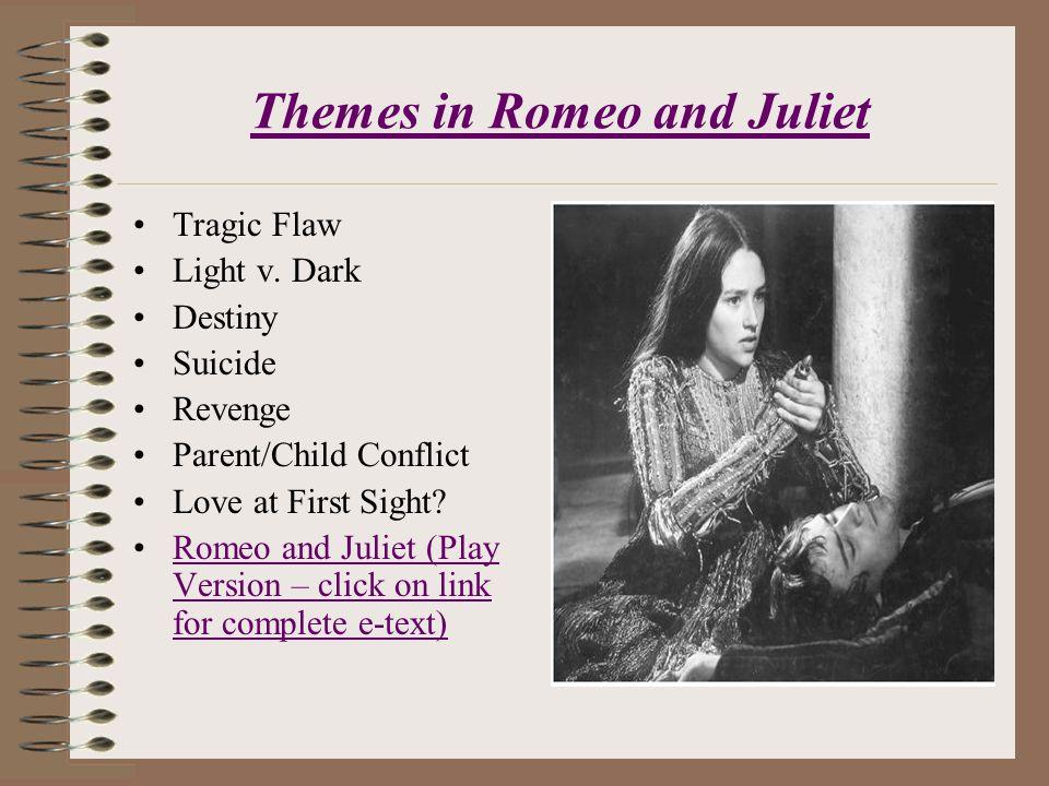 Main idea of romeo and juliet