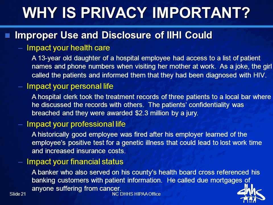 How Dhhs Privacy Policies Affect You Ppt Download