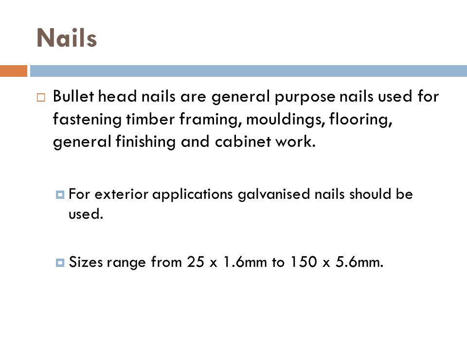 What Size Nails For Framing - Page 4 - Frame Design & Reviews ✓
