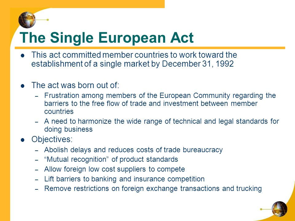single european market for an eu based business The eu by agreement, the consequent 'certificate of conformity' is valid anywhere in the eu companies based outside the eu must have their products tested again uk finance quick brief implications of the leaving the eu single market | 3 the single market and the transfer of data a european insurance company with.