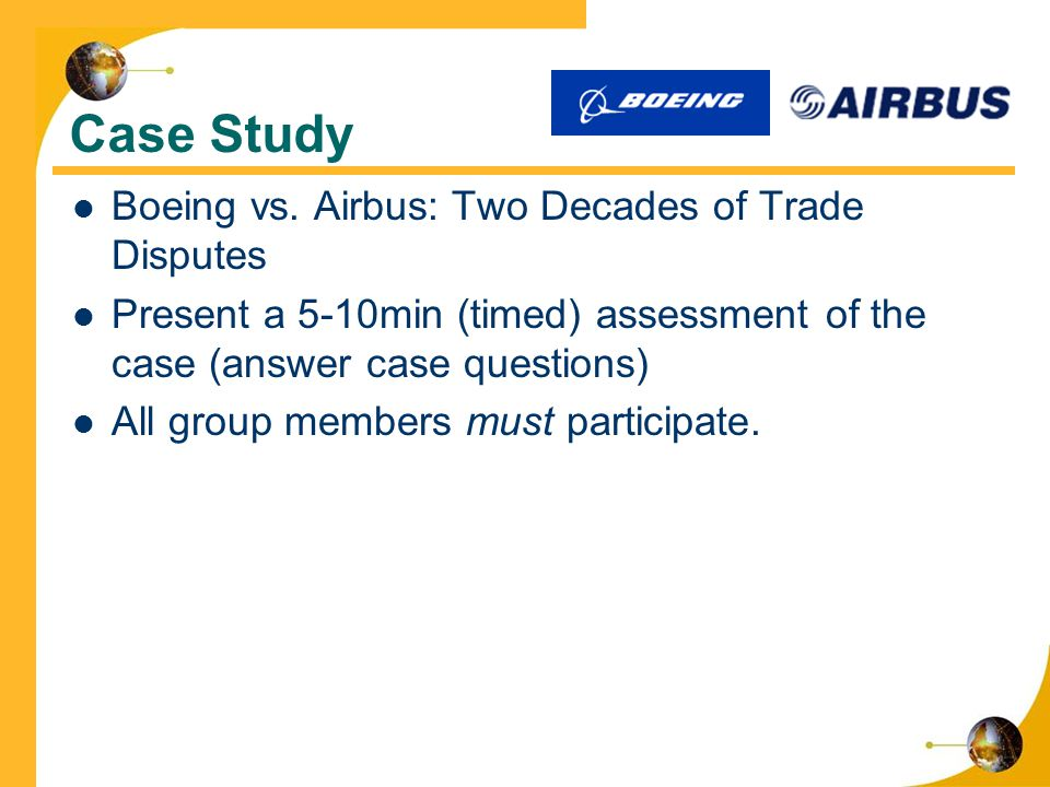 airbus case study Case: airbus a380 – turbulence ahead case solution, case: airbus a380 – turbulence ahead case solution what recommendations would you have for ceo and eads the ceo of the company should focus on the custom.