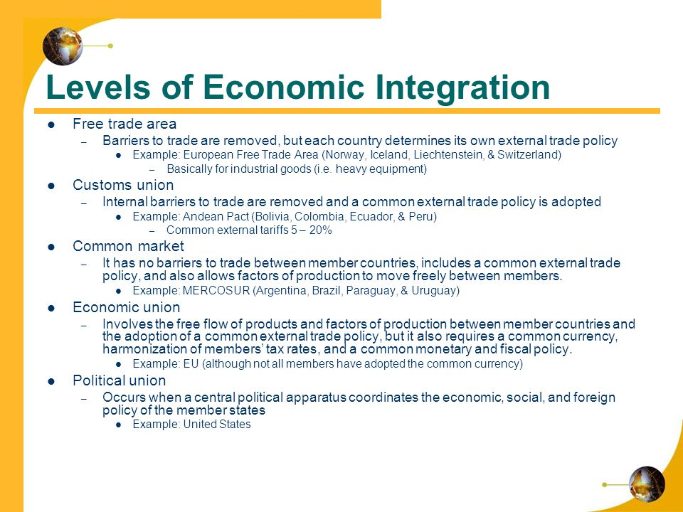 international markets integration and social issues Globalization or globalisation is the process of interaction and integration between people, companies, and governments worldwideglobalization has grown due to advances in transportation and communication technology with increased global interactions comes the growth of international trade, ideas, and cultureglobalization is primarily an economic process of interaction and integration that.