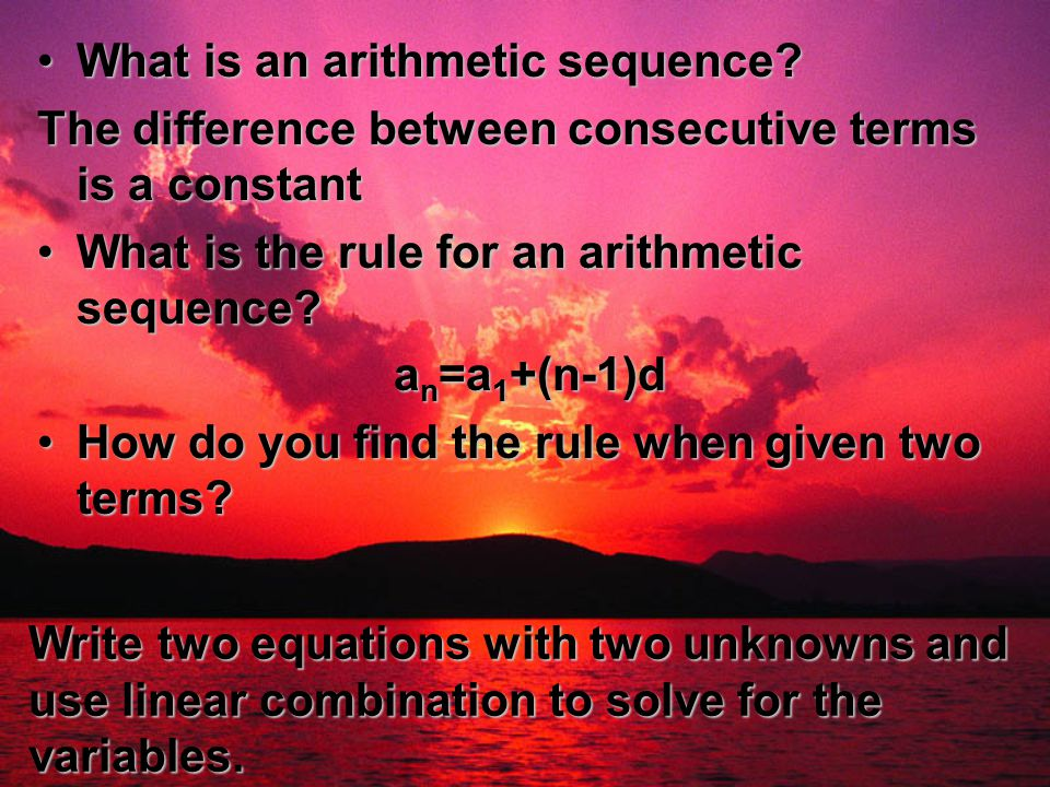 1 2 explain the difference between sequence (x) = f(x – 1) + f(x – 2) referencing the definition of sequence, x is an integer any formula is a sequence if it contains whole numbers at or.