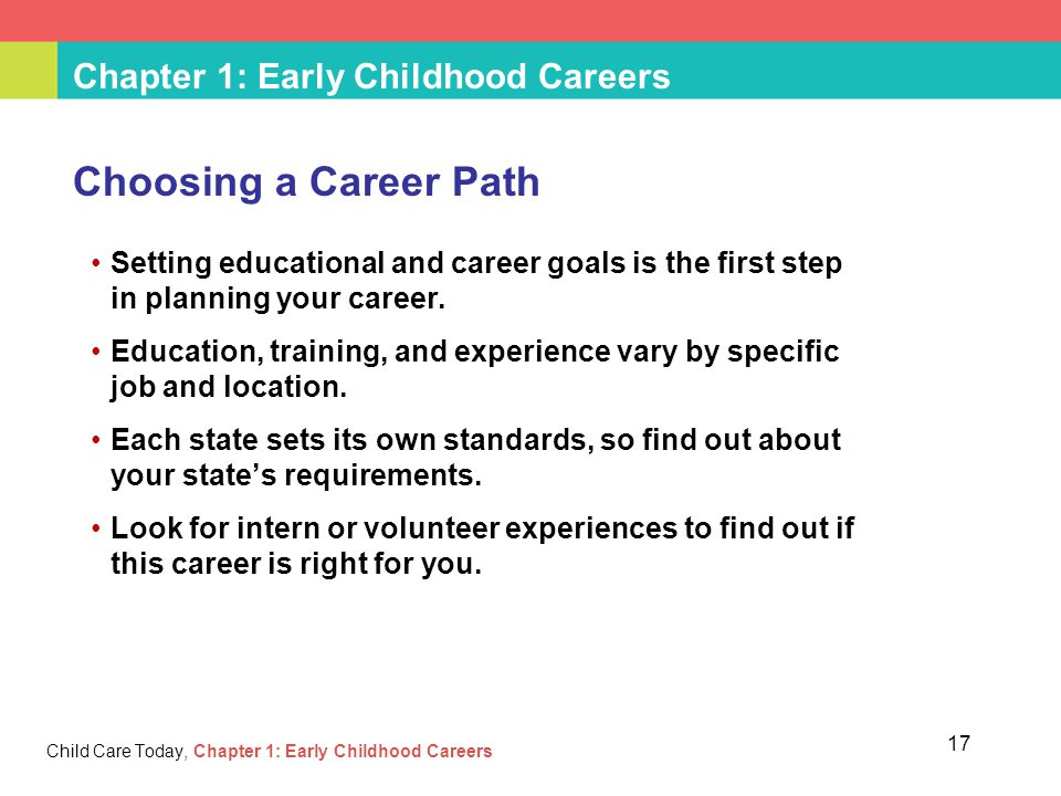 career goals and learning path Office of human resources learning and development setting career goals think of your career as a path stretching out in front of you with branches.