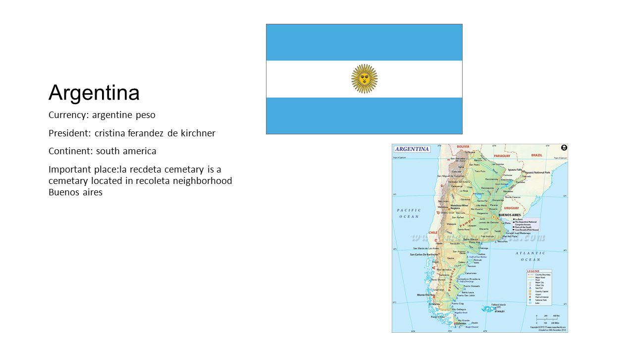 Argentina Currency: argentine peso