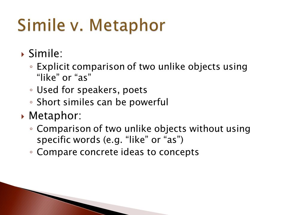 similies and metaphors in sinners in Examples of figurative language from sinners in the hands metaphors, imagery, personification, simile.
