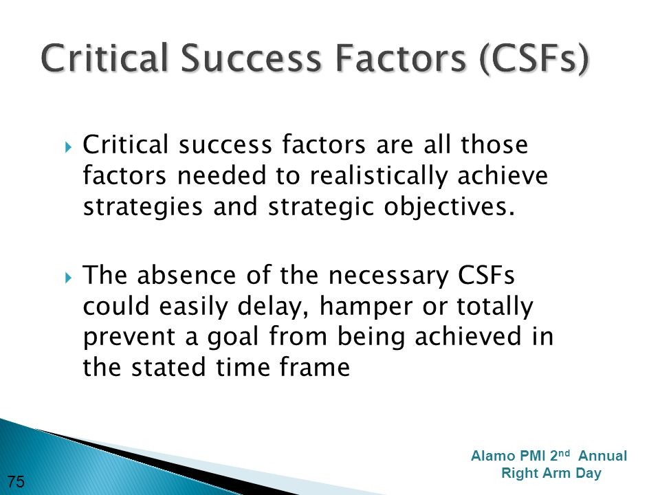 Five Critical Success Factors for ERP Implementations