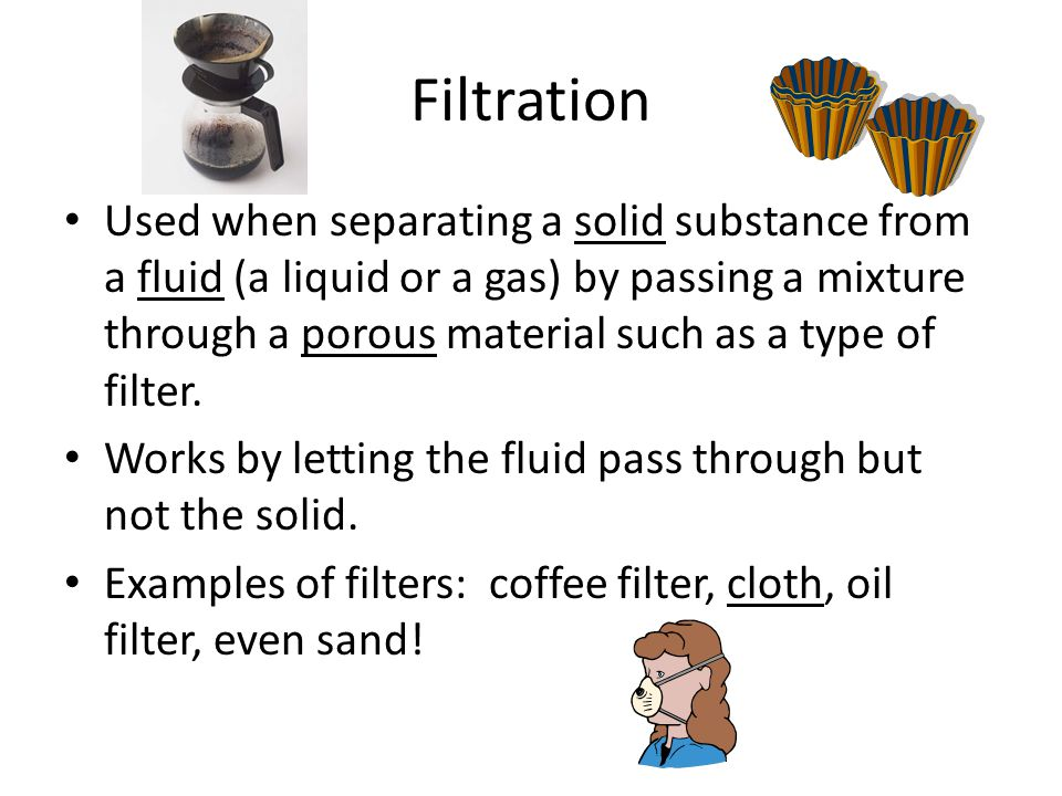 Filtration