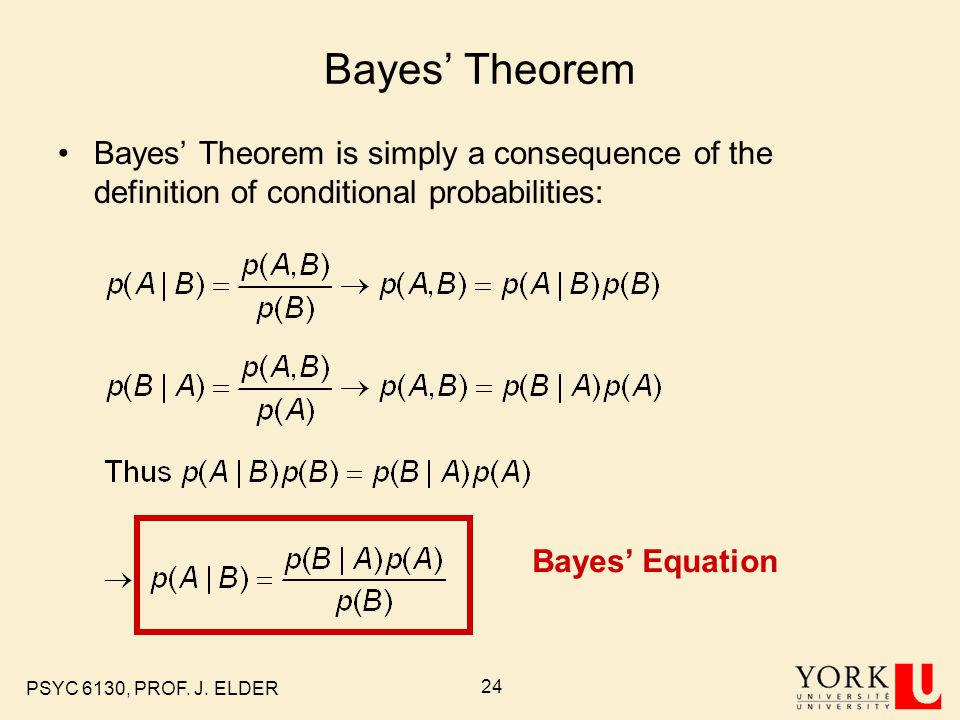 bayes theorem conditional probabilities Conditional probability, independence and bayes' theorem class 3, 1805  jeremy orloff and jonathan bloom 1 learning goals 1 know the definitions of.