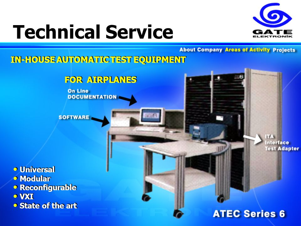 Automatic Test Equipment : Dr turgay maleri president gate elektronik metu