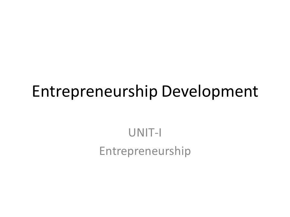 2 entrepreneurship development The entrepreneurship development academy our social entrepreneurship efforts are focused on developing and researching south africa's social enterprises.